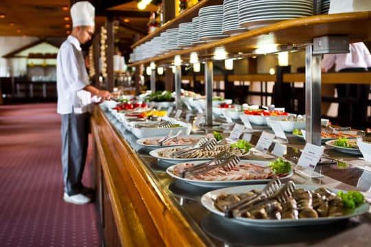 Питание в отеле «Ялта Интурист»